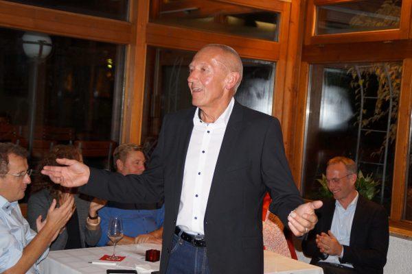 Ulli Maier bei der Nominierung zum Landratskandidat